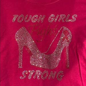 NNW tough girls fight strong bling tee